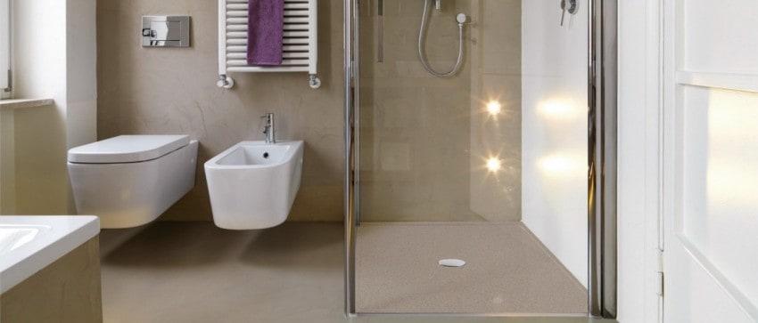 R novation de salle de bains shower stones shower stones for Prix receveur douche italienne