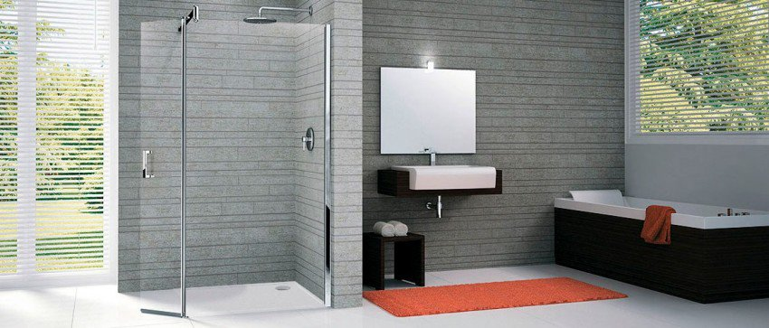 zen attitude dans la salle de bains shower stones. Black Bedroom Furniture Sets. Home Design Ideas