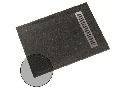 Receveurs de douche à grille Shower-Stones avec finitions personnalisées