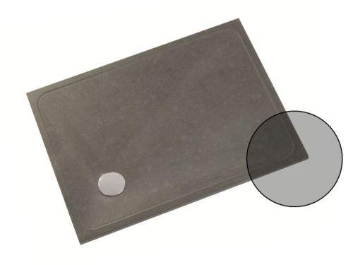 Receveurs de douche à bonde Shower-Stones avec finitions personnalisées