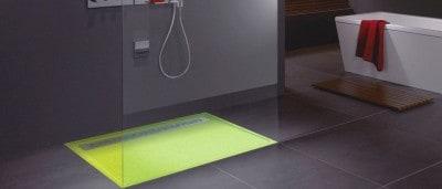 receveur de douche sur mesure extra plat en pierre shower stones. Black Bedroom Furniture Sets. Home Design Ideas