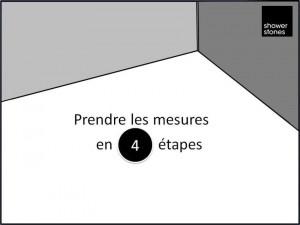 Prendre les mesures du receveur de douche en 4 étapes
