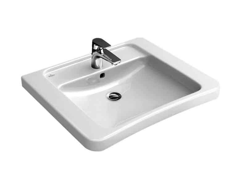 Lavabo adapté pour handicapé