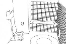Aménagement de salles de bains pour handicapés. Etape 1. Shower Stones