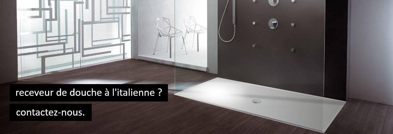 Receveur Shower-Stones pour douches à l'italienne