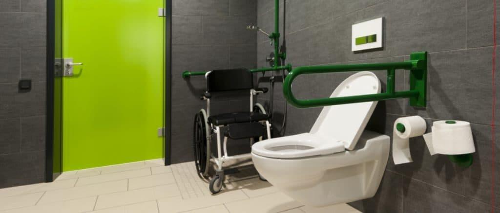 Salles de bains pour handicapés